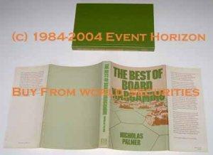 The Best of Board Wargaming Nicholas Palmer 1980 Hippocrene Books