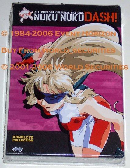 Nuku Nuku Dash Complete Collection Anime DVD Set All Purpose Cultural Cat Girl Nuku Nuku Manga