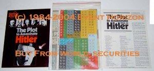 SPI S&T Strategy & Tactics 59 Plot to Assassinate Hitler 1938-44
