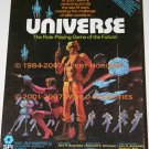 SPI Universe Box RPG Gamemaster Adventure Guide Screen DeltaVee Tactical Space Combat