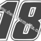 Kyle Busch 18 Decal