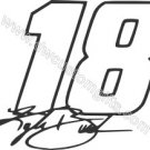 Kyle Busch 18 w/signature Decal