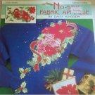 Daisy Kingdom Tartan Floral Christmas Poinsettia No-Sew Fabric Applique