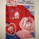 No-Sew Fabric Applique -- Kitty Valentine -- Daisy Kingdom