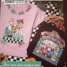 No Sew Fabric Applique. 6929 Garden Time. Daisy Kingdom.