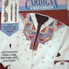 QUILTERS GARDEN - DAISY KINGDOM FABRIC - IRON WITH FUSIBLE WEB - CARDIGAN CUT-OUTS'.