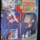 Daisy Kingdom Country Patches Gingerbread Snowmen Motifs