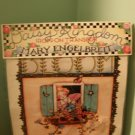 Mary Engelbreit Bloom Where You Are Planted Iron On Transfer