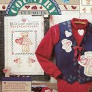 Daisy Kingdom Country Cut-Outs No-Sew Fabric Applique ~ Beary Merry Christmas