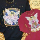 Daisy Kingdom Heavenly Angels No-Sew Fabric Applique