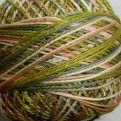 M47 Robins Nest  Pearl Cotton size 12  Valdani Variegated q6