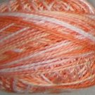 M22 Peaches Pearl Cotton size 12  Valdani Variegated q6