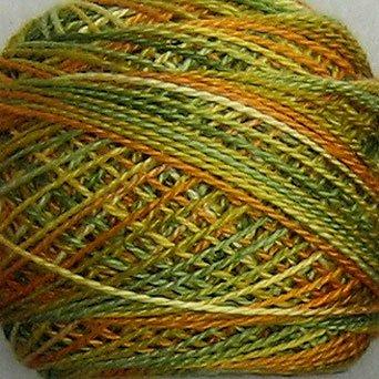 M28 Harvest Pearl Cotton size 8 Valdani Variegated q1