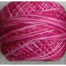 M14 Roses  Pearl Cotton size 8  Valdani Variegated q6