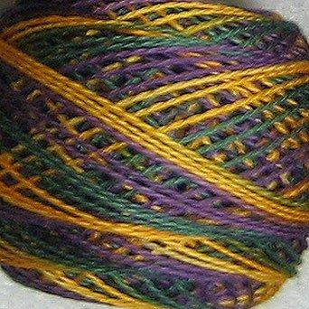 M59 Praire Sun Pearl Cotton size 8 Valdani Variegated q2
