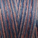 M25 Dusty Pinks and Blues 35 wt 500m  Valdani Hand Dyed Variegated Cotton Thread q1
