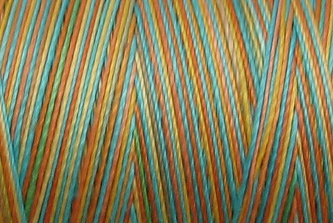 M36 - Sunny Rainbow - 35wt - 500m - Valdani Variegated Thread -  q1