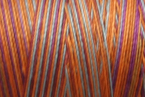 M62-Glorious Fall - 35wt -  500m - Valdani Variegated Thread - Free Shipping to US & Canada q6