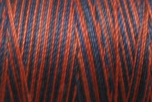 M64 - Ocean Sunset - 35wt -  500m - Valdani Variegated Thread - Free Shipping to US & Canada q1