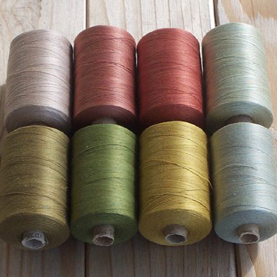 Earth Tones collection - Valdani thread solid color 50wt  xu