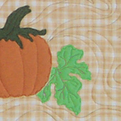 Pumpkin Runner - rustic table runner template by Snowflake Memories xdd