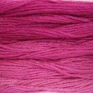 Fuchsia 5 skeins Hand Dyed 6 Strand Floss Valdani Nuances collection free ship US CA
