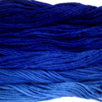 Navies 5 skeins Hand Dyed 6 Strand Floss Valdani Nuances collection free ship US CA