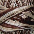 M0 M Cappuccino Pearl Cotton size 8 Valdani Variegated q2