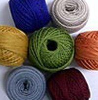 Any 12 balls Pearl Cotton Valdani Solid and Variegated M colors, size 12