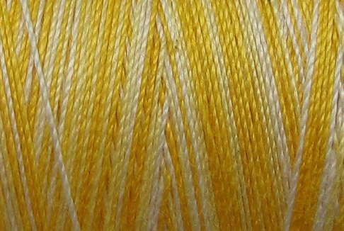 M12 Spring Lights  35 wt 500m  Valdani Variegated Cotton Quilting Thread q3