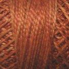 O506  Cinnamon Swirl  Pearl Cotton size 12  Valdani Overdyed 0506 q4