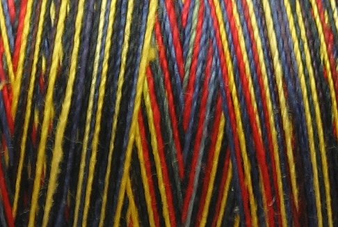 M11 Night Fire 35wt  500m  Valdani Hand Dyed Variegated Cotton Quilting Thread q1