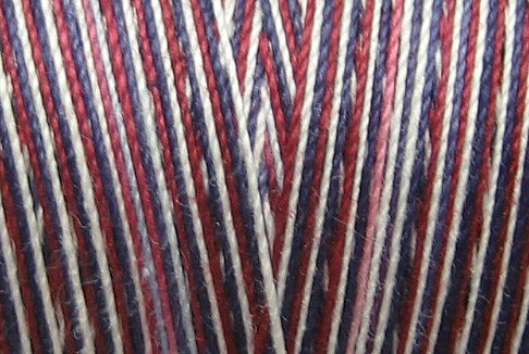 M03 American Winter 35wt 2000m cone Valdani Hand Dyed Variegated Cotton Quilting Thread  q0