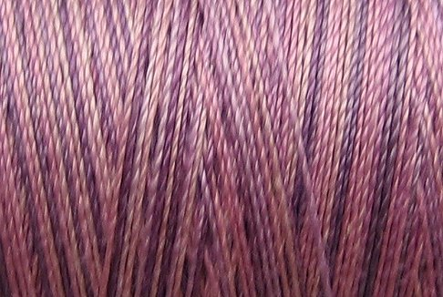 M18 Iris Petals 35wt 2000m cone Valdani Hand Dyed Variegated Cotton Quilting Thread  x0