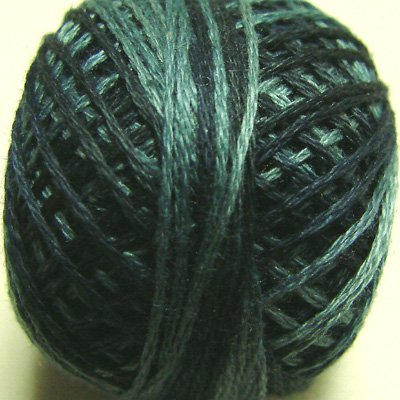 O537 Sea Deep Three-Strand-Floss ® Valdani 0537 punchneedle cotton 29yd ball Free Ship US q6