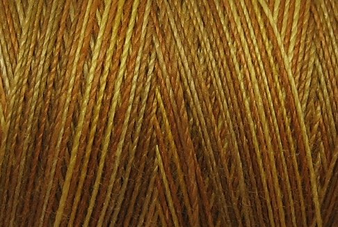 M81 B1 Backyard Honeycomb 50wt 1080 yds - Valdani Hand Dyed Cotton Variegated Thread q1