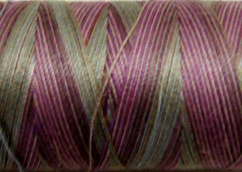 M1002 Water Lilies 50wt 1080 yds - Valdani Hand Dyed Cotton Variegated Thread q0
