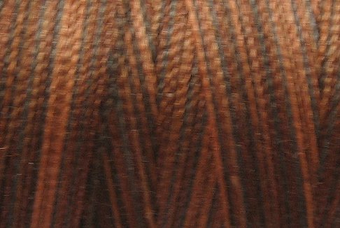 M90 Chocolate Brownies 50wt 1080 yds - Valdani Hand Dyed Cotton Variegated Thread q1