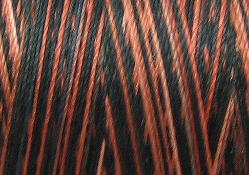 BONUS M804 Cold Lava 50wt 1625 yds - Valdani Hand Dyed Cotton Variegated Thread q1