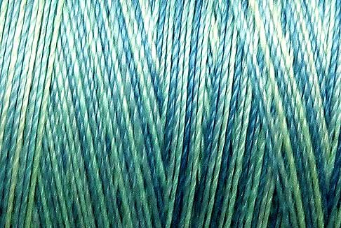 M24 Water Reflections 50wt 1080 yds - Valdani Hand Dyed Cotton Variegated Thread q1