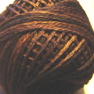 P9 Bronze Three-Strand-Floss ® Valdani punchneedle cotton 29yd ball Free Shipping US q6