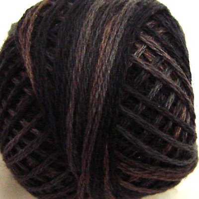 P11 Aged Black Three-Strand-Floss ® Valdani punchneedle cotton 29yd ball Free Shipping US q6
