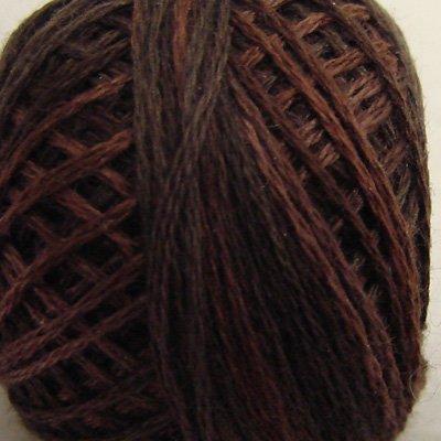 P12 Brown Three-Strand-Floss ® Valdani punchneedle cotton 29yd ball Free Shipping US q6