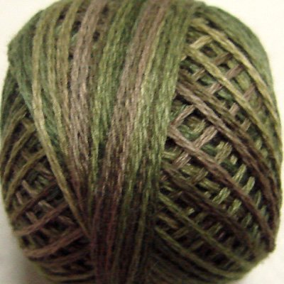 Punchneedle P2 Olive Green 3 Strand Cotton Floss Valdani 86yd ball q1
