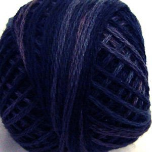 Punchneedle O515 Midnight Blue 3 Strand Cotton Floss Valdani 0515 29yd ball Free Shipping US q2