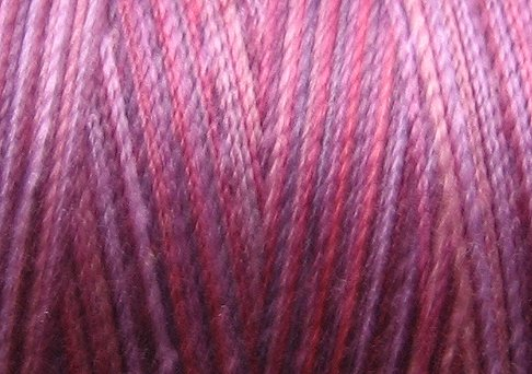 V60 Pink & Purples Valdani 35wt 1080 yds Variegated Cotton Quilting Thread  q1