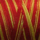 V57 Fire Valdani 35wt 1080 yds Variegated Cotton Quilting Thread  q1