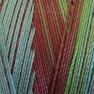 V104 Green Chestnut Valdani 35wt 1080 yds Variegated Cotton Quilting Thread q1