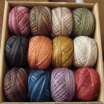 P00 3 Strand Floss Punchneedle Vintage Hues collection for J.Paton Free Ship US & CA q1