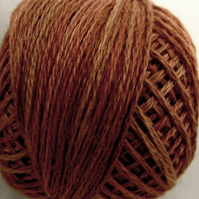 O513 0513 Coffee Roast Three-Strand-Floss ® Valdani punchneedle cotton 29yd Free Ship US q6